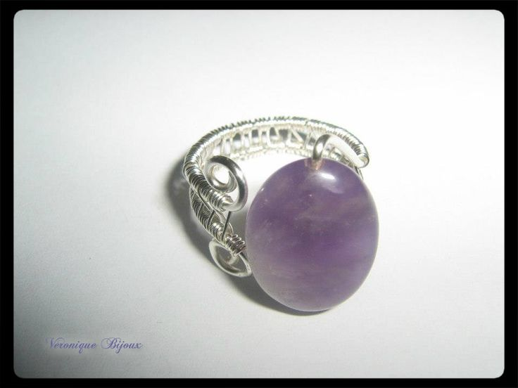 Ring with Amethyst