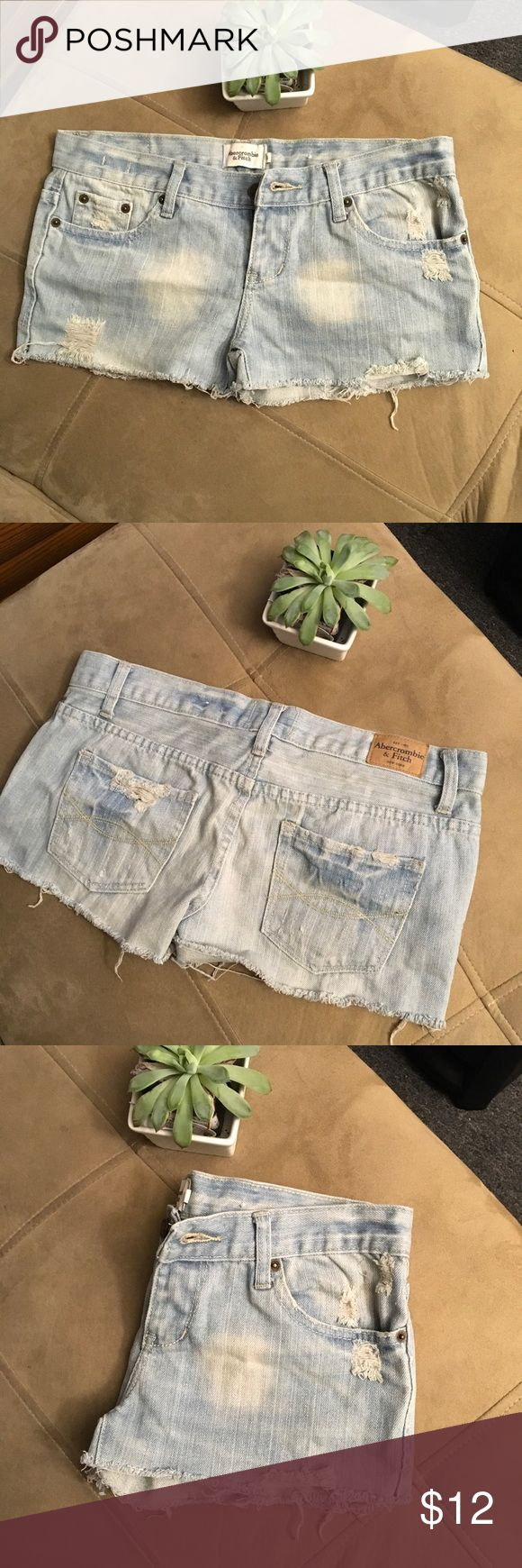 "⭐️Moving Sale!⭐️ A&F Jean Cutoff Shorts Super cute and great condition! Tag says 6, but fits like a 3/4. Sexy! 🔸Smoke and Pet Free Home🔸Don't like the price? Don't be shy, make an offer!🔸All reasonable offers are considered!🔸Click ""Add to Bundle"" on your items and save on a bundle discount!🔸Check out my 💝Free with Bundle Items!💝 Abercrombie & Fitch Shorts Jean Shorts"