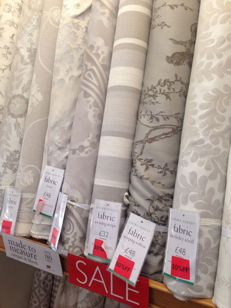 Love the fabric from Laura Ashley!