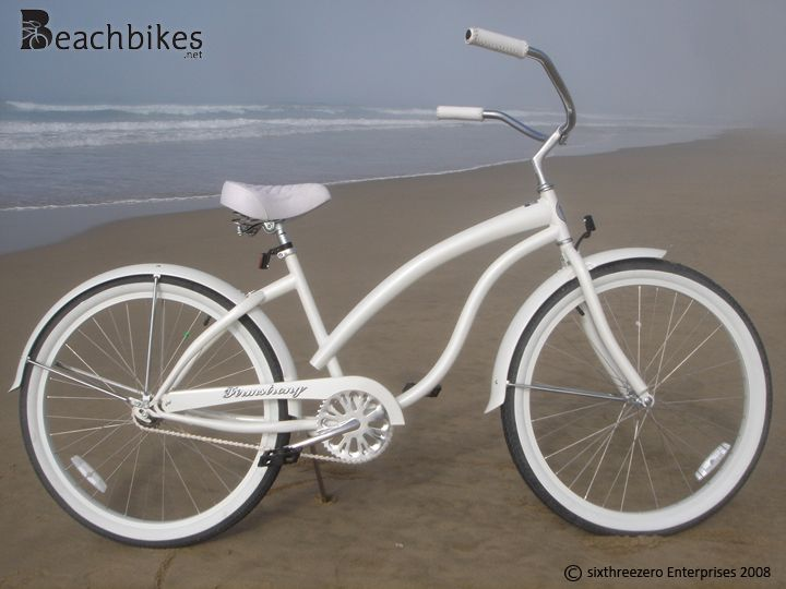 """would like to have please   Firmstrong Bella Fashionista Single Speed, White - Women's 26"""" Beach Cruiser Bike"""