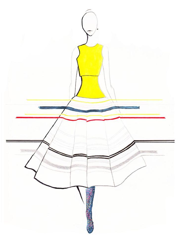 Christian Dior Spring 2015 Couture 01 Fine Art Print by StephanieAnneIllu on Etsy https://www.etsy.com/ca/listing/234373892/christian-dior-spring-2015-couture-01