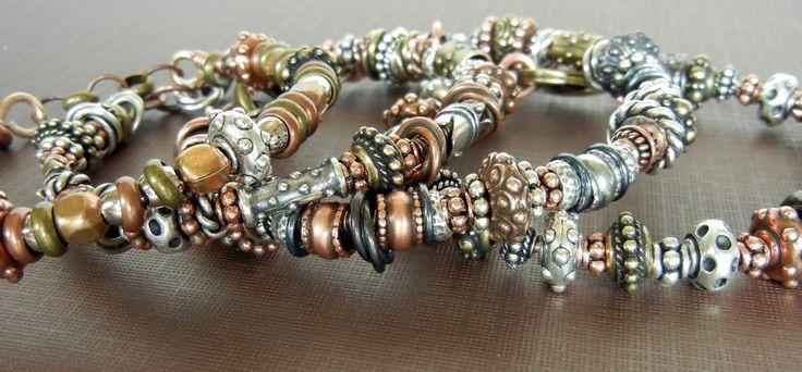 metallicious-bangles!  so easy and so fun to make!