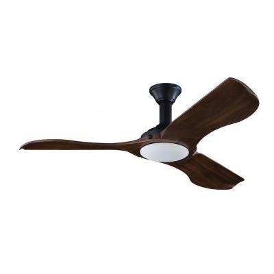 Monte Carlo Minimalist 56 in. Black Ceiling Fan