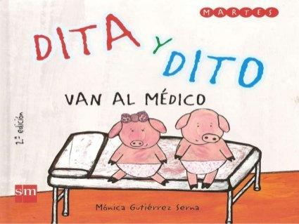 """""""Dita y Dito van al medico"""" Cuento adaptado con Pictogramas broadmaker by marhugo, via Slideshare"""