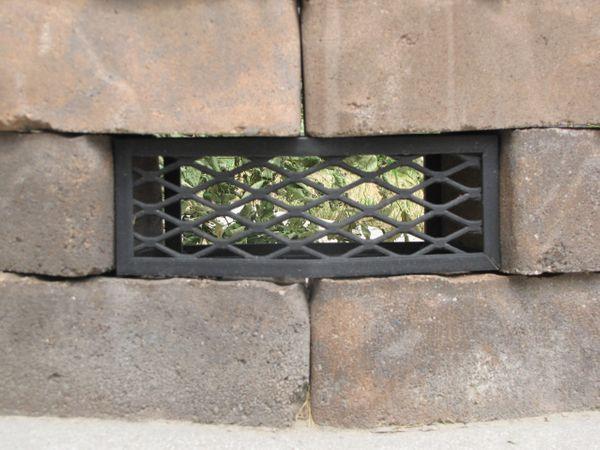 9 Fire Pit Vent Frameless Fire Pit Vents Fire Pit Stone Fire Pit