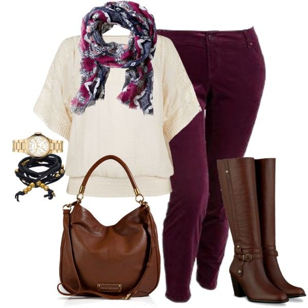 #plussize #plus #size #outfit Skinny Cords - Plus Size
