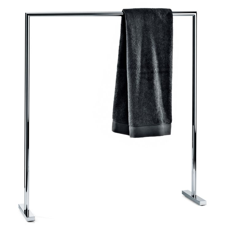 DWBA Freestanding Single Towel Bathroom Rack Stand Bar 28.3 Inch Towel  Holder. Chrome