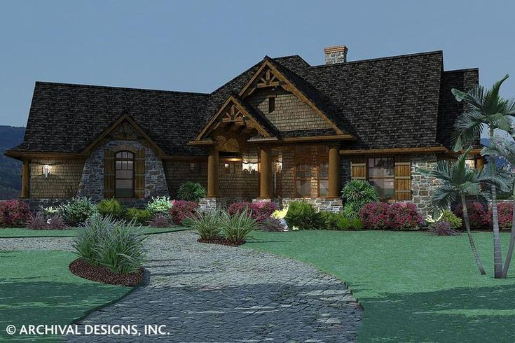 Vita Encantata House Plan Tuscan House Plans Cottage Style House Plans Craftsman House Plans