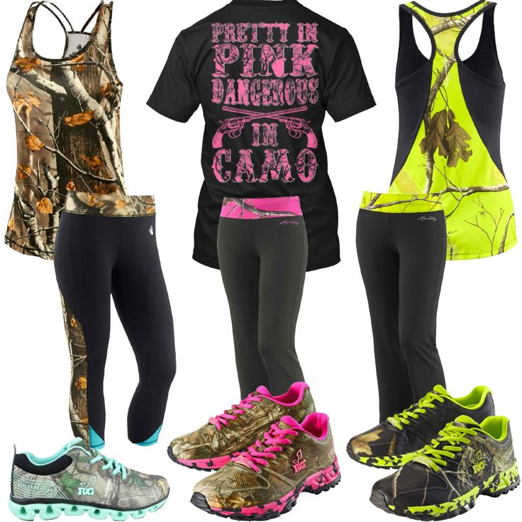 Dangerous In Camo Capri Pants Shoes Outfits - Real Country Ladies