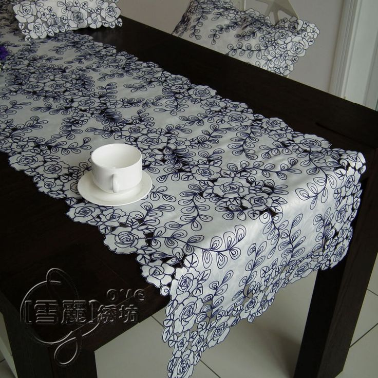 best 20 dining table runners ideas on pinterest dining. Black Bedroom Furniture Sets. Home Design Ideas