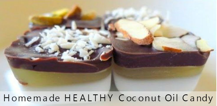 Homemade HEALTHY Coconut Oil Candy Recipe