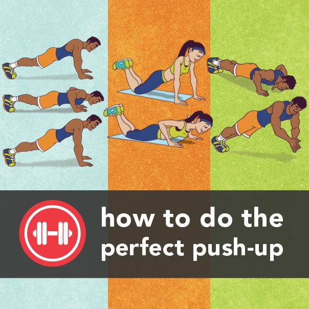 How many can you do? From our friends at @Greatist: How to do the perfect push-up. #fitness #exercise
