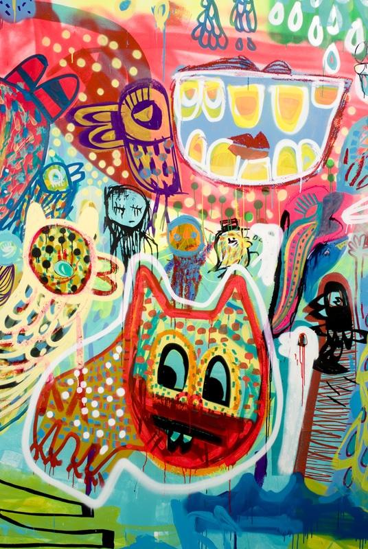 Carlos Dias awesome street art.