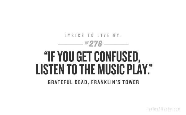 Grateful Dead, Franklin's Tower