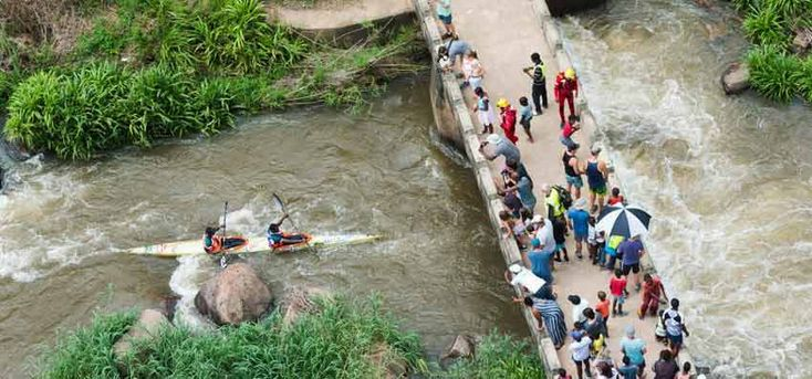 THE FNB DUSI CANOE MARATHON  The Ultimate Guide To Major Sports Events In Cape Town - Explore Sideways