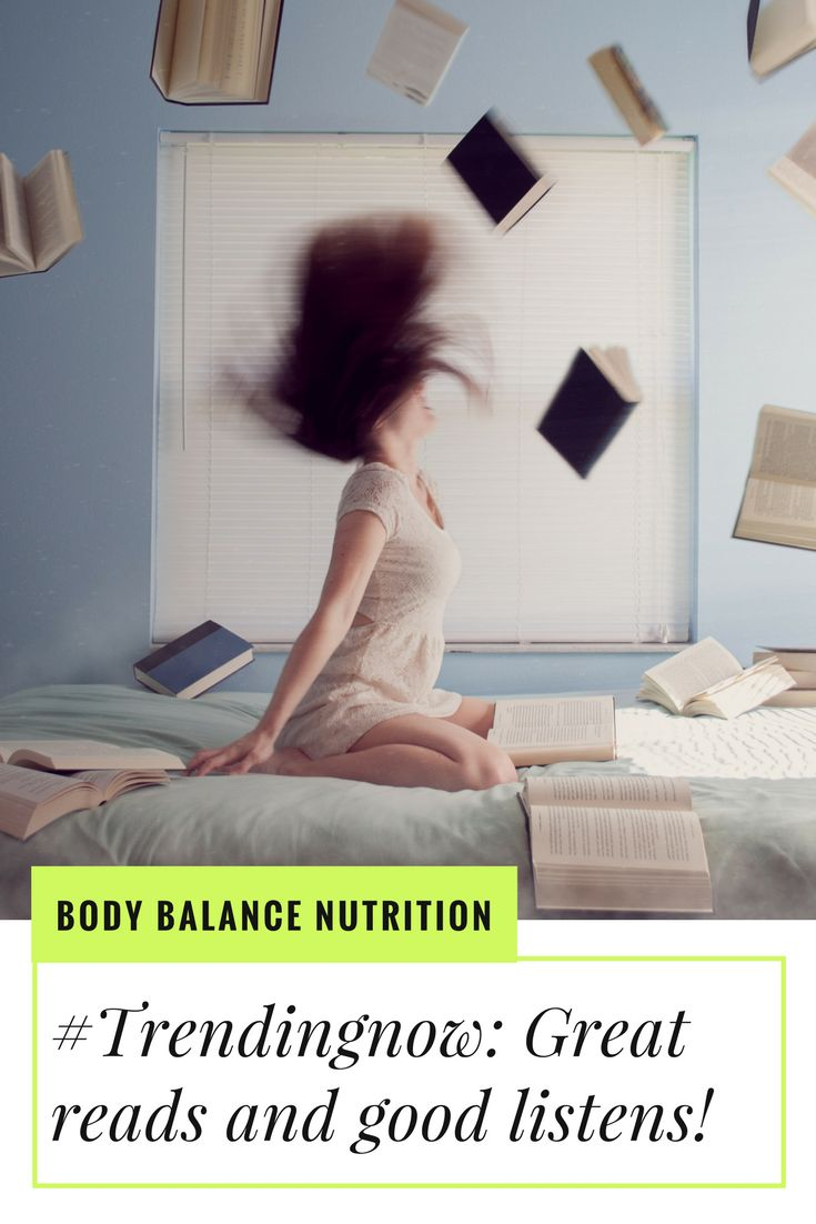 Great nutrition and wellbeing reads!