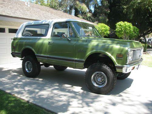 32 best chevy blazer images on pinterest chevrolet trucks chevy sell new 1972 chevy k5 blazer cst in orange california united states sciox Gallery