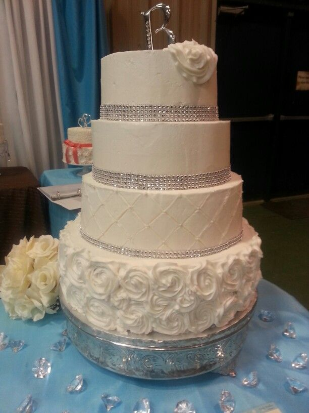 4 tier wedding cake for 100 8 best 2014 bridal fair rotary park images on 10393