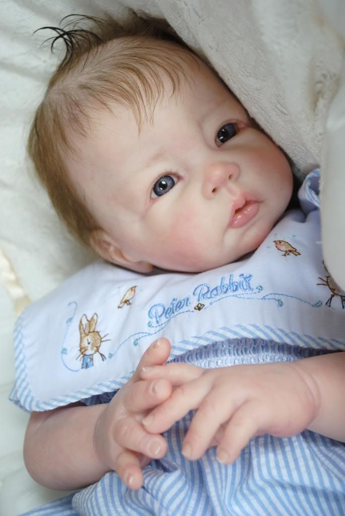Such a pretty doll - and I DON'T think it's creepy!!! Adopted Reborn Babies - Bespoke Babies