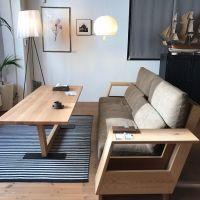 デザイン性と利便性の高い機能を兼ね備えている、ハイバック・ローソファ「LIBERIA」そう、大人気のリベリアソファ。一番の人気はウォールナット×ネイビーでもやっぱり明るい家具が好き!という方に!朗報です!オークのリベリアソファだっていいじゃありませんか!少しでもお部屋を明るくしたい!そんな方はぜひ!張地はカバーリングなので飽きたら、汚れたら、新しくご購入も可能です。また張地の部分は面積が大きいので、お部屋雰囲気を左右する重要ポイントです!たくさ...
