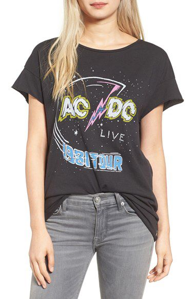 Junk Food Junk Food AC/DC Tee available at #Nordstrom