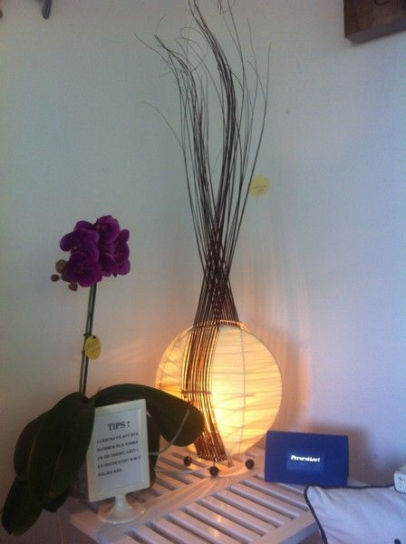 Handgjord lampa #handgjord lampa #naturmaterial #återvinna #inredning #heminredning www.home-design.se