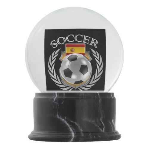 Spain Soccer 2016 Fan Gear Snow Globe