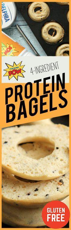 Gluten-Free Protein Bagels Recipe