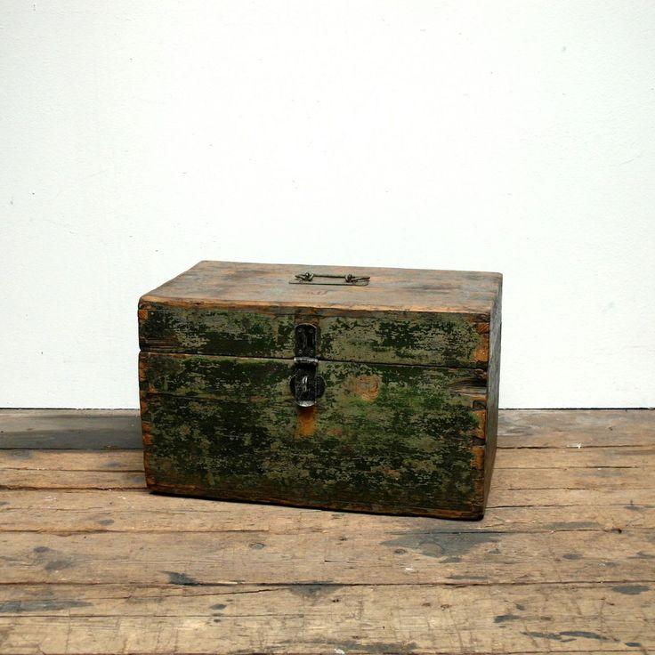 Vintage Carpenter's Box | Hungary (1960s)