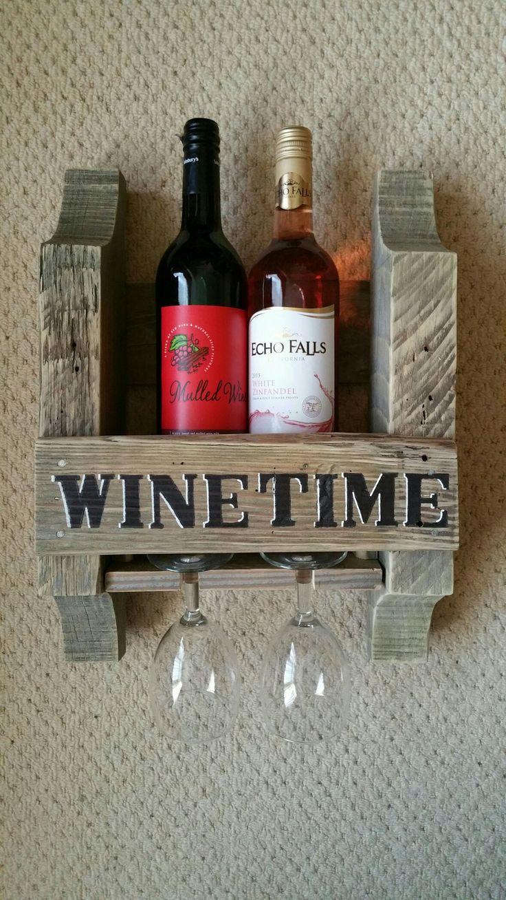 My first 2 bottle wine rack