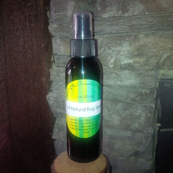 All Natural Bug Spray by spiritoftheboreal on Etsy