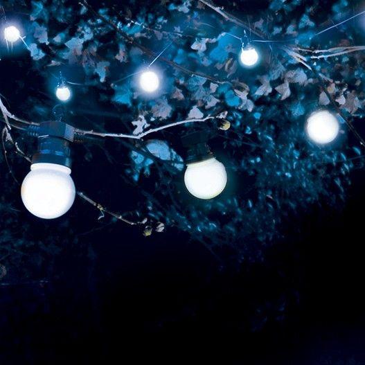Les 25 meilleures id es de la cat gorie guirlande guinguette sur pinterest nuit dehors - Guirlande guinguette blanche ...