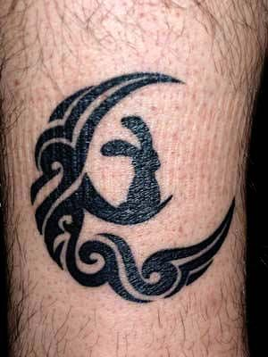 snake rabbit tattoo - Google Search
