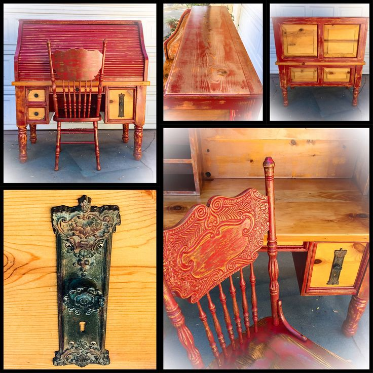 Materials Distressed And Glazed: Best 25+ Red Distressed Furniture Ideas On Pinterest