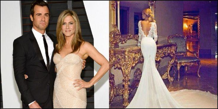 Jennifer Aniston Wedding Dress Pictures