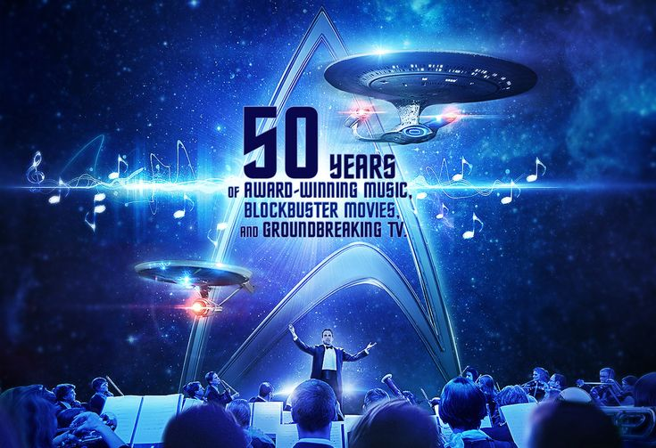 Justin Freer Beams Up To The Podium To Conduct Star Trek: The Ultimate Voyage 50th Anniversary Concert Tour