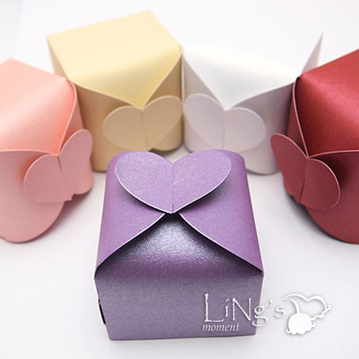 Baby Shower Party Favors | Heart Gift Candy Favor Boxes Bonbonniere Wedding Party Baby Shower ...