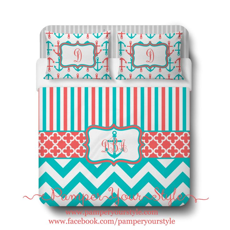 Interior Design Your Own Bedding 675 best pamper your style bedding images on pinterest bedroom custom designed striped and chevron red blue nautical duvet or comforter personalized create design own
