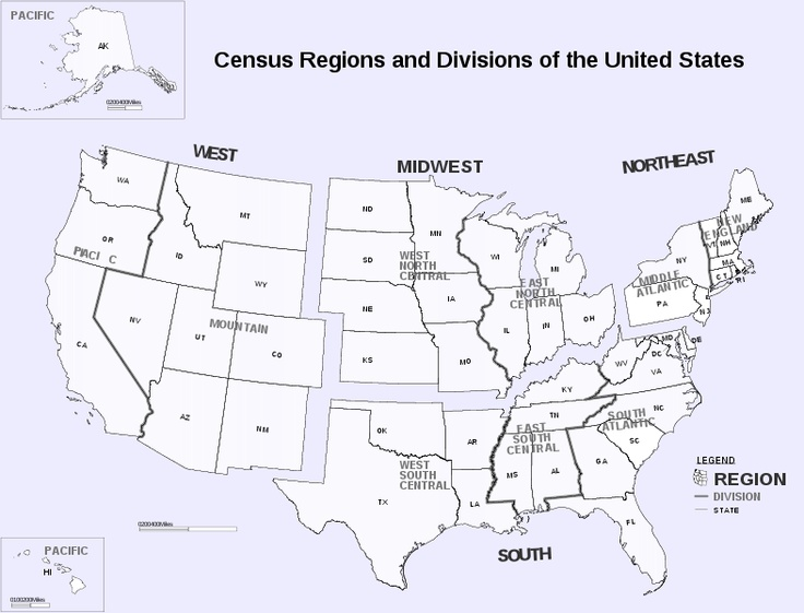 Regions Of The Us List Of Books For Each State Here Http Www