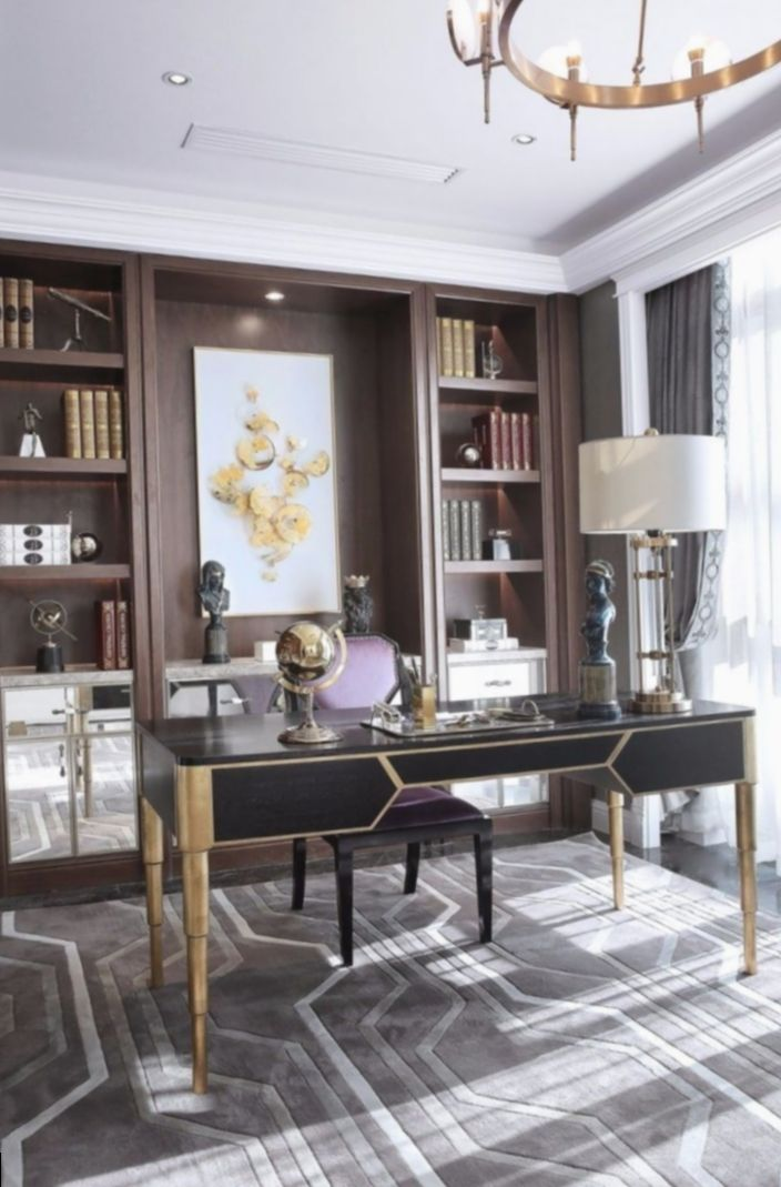 53 Really Great Home Office Ideas Photos Executive Office Decor Home Office Design Traditional Home Offices