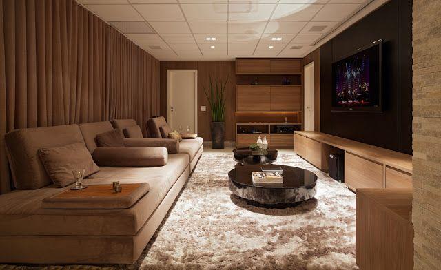 Home theaters - veja modelos e dicas técnicas de como montar um cinema em casa! - Decor Salteado - Blog de Decoração e Arquitetura