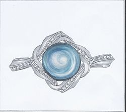 32 best Jewellery Design Sketches images on Pinterest Jewelry