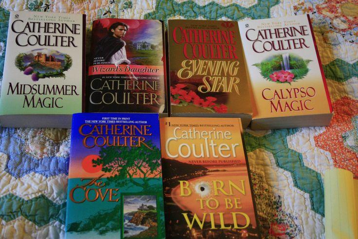 Lot of 6 Catherine Coulter books by TheKindLady on Etsy