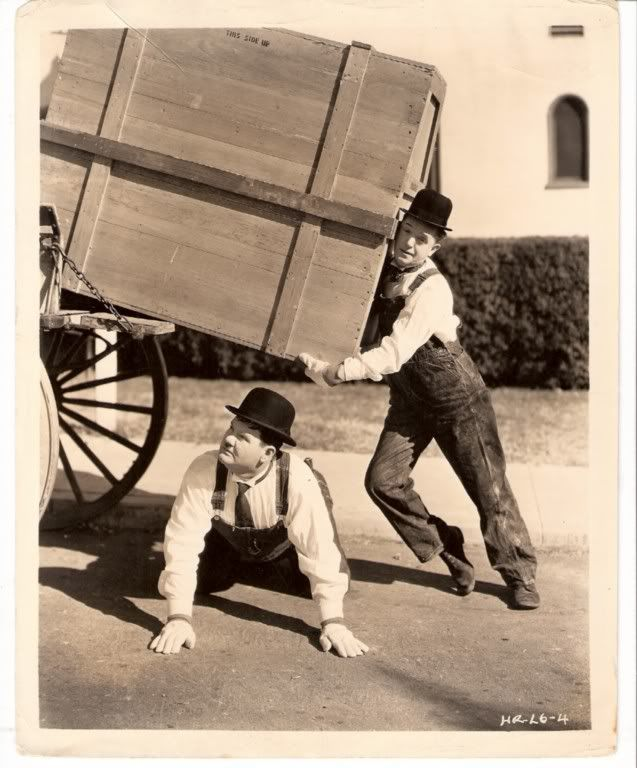 """Laurel & Hardy: The Music Box - 1932 """"Well, This is another fine mess you've gotten us into."""""""
