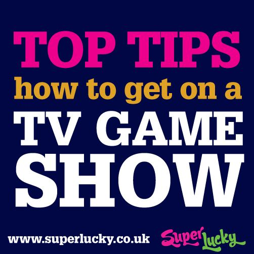SuperLucky: How to get on a TV gameshow