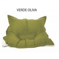 cuscini da pavimento verde