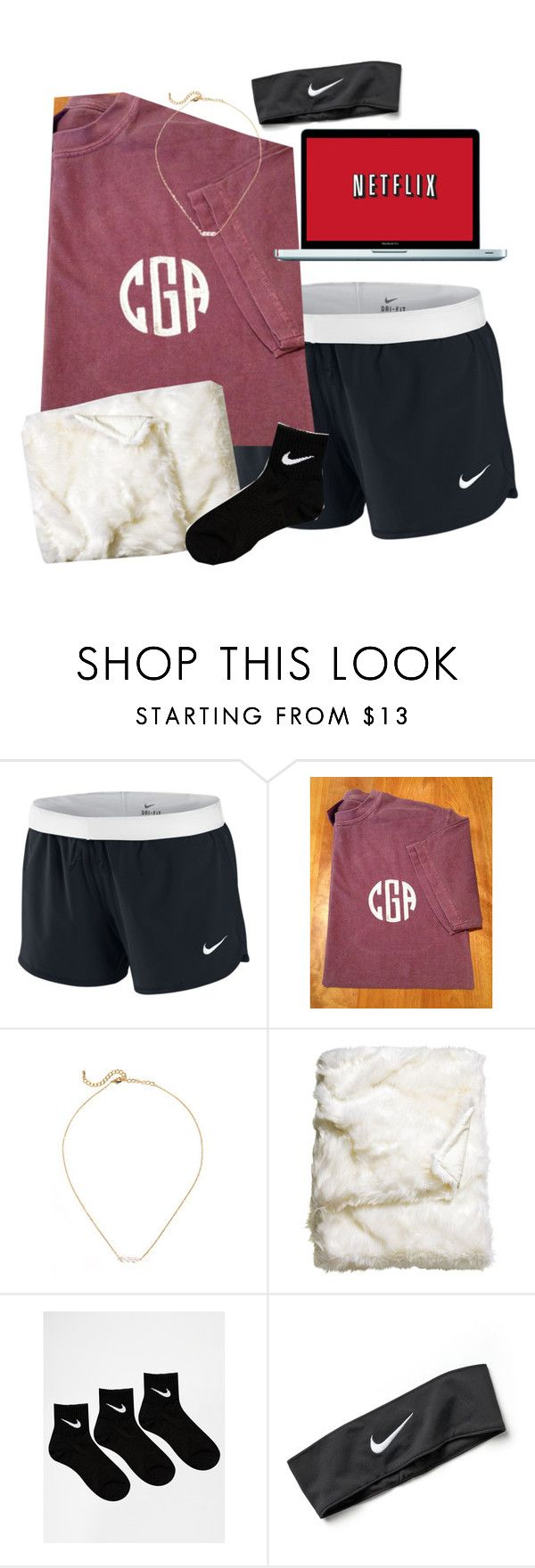 """""""My life be like"""" by lo-wren ❤ liked on Polyvore featuring NIKE and H&M"""