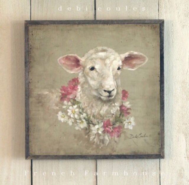 576 Best Lamb Amp Sheep Art Images On Pinterest Sheep