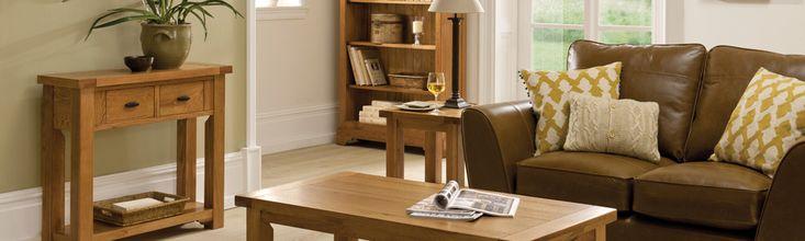 Toulouse Oak Living Room Furniture