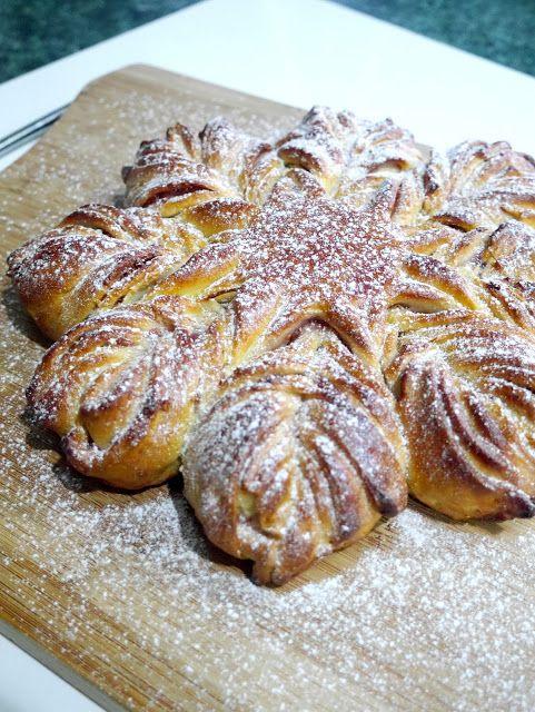 StyleNovice: Jam Sweet Bread Christmas Star Recipe